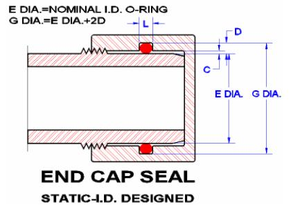 End Cap seal design