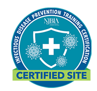 Seals Eastern is CDC compliant certified by NJBIA